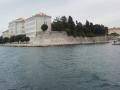Famous Zadar's walls