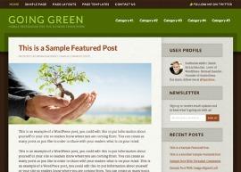 Going Green Theme