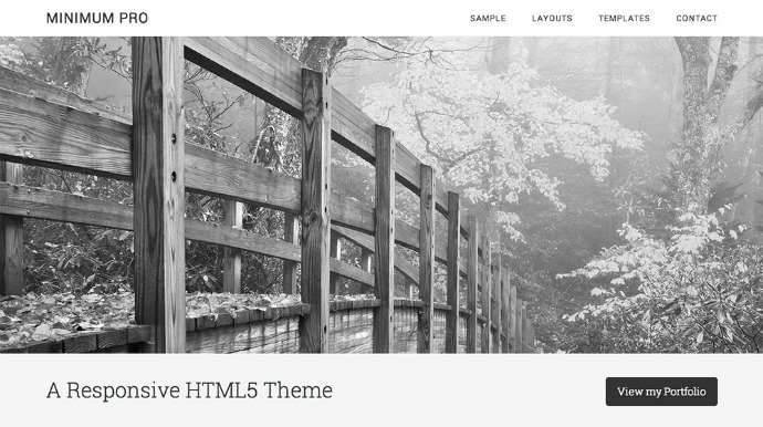 Minimum Pro Theme