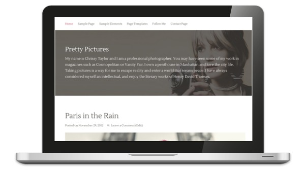 Pretty Pictures Theme