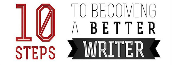 10 Steps to Becoming a Better Writer-Infographic
